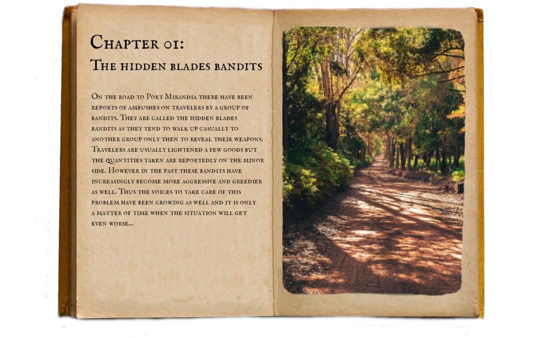 Pre-Trial: The Hidden Blades Bandits